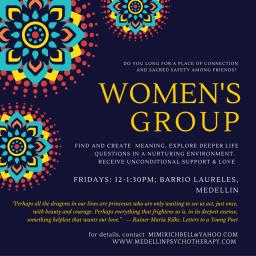 Women's Group new in Medellin