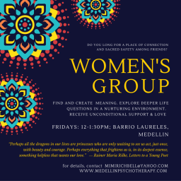 Women's Group new in Medellin